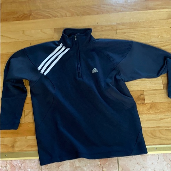 Child's medium Adidas soccer sweatshirt .